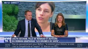 Pascale De La Tour Du Pin dans Première Edition - 05/10/16 - 61