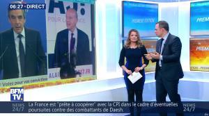 Pascale De La Tour Du Pin dans Première Edition - 22/11/16 - 04