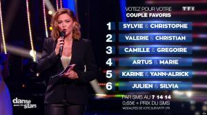 Sandrine Quétier dans Danse avec les Stars - 22/10/16 - 15