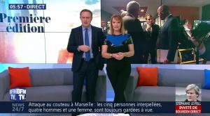 Adeline Francois dans Première Edition - 05/10/17 - 02