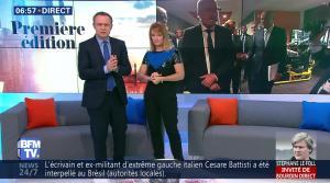 Adeline Francois dans Première Edition - 05/10/17 - 03