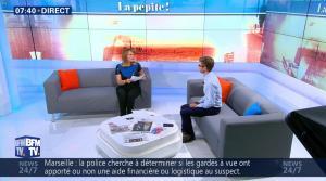 Adeline Francois dans Première Edition - 05/10/17 - 04