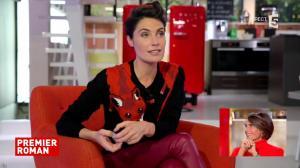 Alessandra Sublet dans C à Vous - 08/11/17 - 03