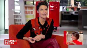 Alessandra Sublet dans C à Vous - 08/11/17 - 04