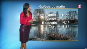 Anais Baydemir à la Météo de Midi - 07/11/17 - 02
