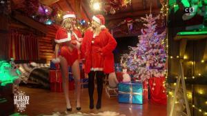 Caroline Ithurbide et Justine Fraioli dans le Grand Bêtisier de Noël - 18/12/17 - 09