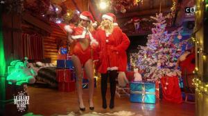Caroline Ithurbide et Justine Fraioli dans le Grand Bêtisier de Noël - 18/12/17 - 10