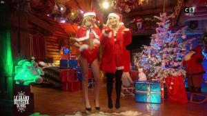 Caroline Ithurbide et Justine Fraioli dans le Grand Bêtisier de Noël - 18/12/17 - 11