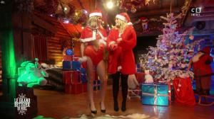 Caroline Ithurbide et Justine Fraioli dans le Grand Bêtisier de Noël - 18/12/17 - 12