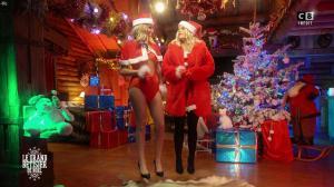 Caroline Ithurbide et Justine Fraioli dans le Grand Bêtisier de Noël - 18/12/17 - 15