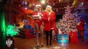 Caroline Ithurbide et Justine Fraioli dans le Grand Bêtisier de Noël - 18/12/17 - 16