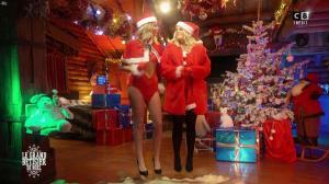 Caroline Ithurbide et Justine Fraioli dans le Grand Bêtisier de Noël - 18/12/17 - 17