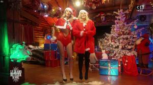 Caroline Ithurbide et Justine Fraioli dans le Grand Bêtisier de Noël - 18/12/17 - 18