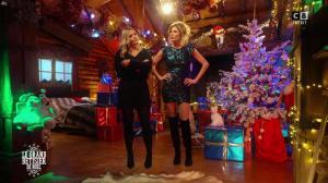 Caroline Ithurbide et Justine Fraioli dans le Grand Bêtisier de Noël - 18/12/17 - 20