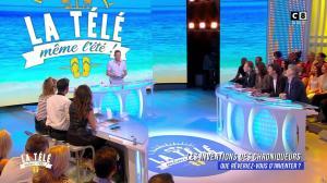 Caroline Ithurbide et Magali Berdah dans la Télé, même l'été - 12/07/17 - 02