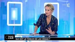 Caroline Roux dans C dans l'Air - 03/10/17 - 02
