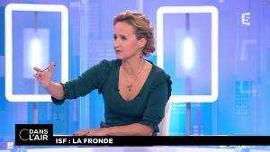 Caroline Roux dans C dans l'Air - 19/10/17 - 04