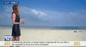 Daniela Prepeliuc à la Météo de BFM TV - 11/08/17 - 03