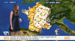 Daniela Prepeliuc à la Météo de BFM TV - 11/08/17 - 05
