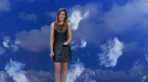 Daniela Prepeliuc à la Météo de BFM TV - 11/08/17 - 08