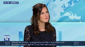Daniela Prepeliuc à la Météo de BFM TV - 18/09/17 - 01
