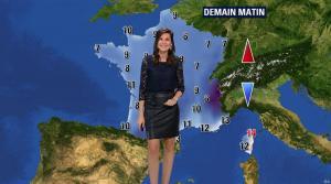 Daniela Prepeliuc à la Météo de BFM TV - 18/09/17 - 06