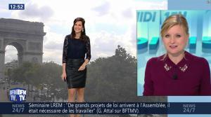 Daniela Prepeliuc à la Météo de BFM TV - 18/09/17 - 08