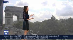 Daniela Prepeliuc à la Météo de BFM TV - 18/09/17 - 09