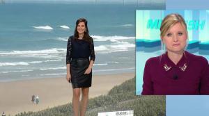 Daniela Prepeliuc à la Météo de BFM TV - 18/09/17 - 15