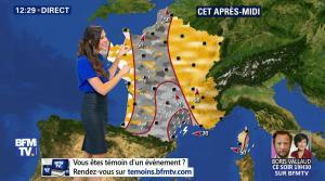 Daniela Prepeliuc à la Météo de BFM TV - 19/10/17 - 04