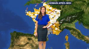 Daniela Prepeliuc à la Météo de BFM TV - 19/10/17 - 05