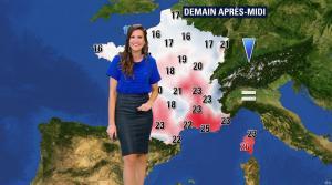 Daniela Prepeliuc à la Météo de BFM TV - 19/10/17 - 10