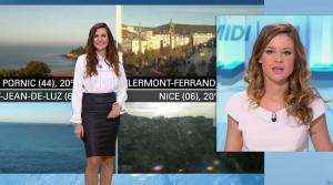 Daniela Prepeliuc à la Météo de BFM TV - 26/10/17 - 01