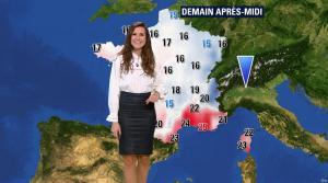 Daniela Prepeliuc à la Météo de BFM TV - 26/10/17 - 06