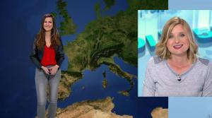 Daniela Prepeliuc à la Météo de BFM TV - 30/10/17 - 02
