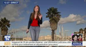 Daniela Prepeliuc à la Météo de BFM TV - 30/10/17 - 03
