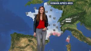 Daniela Prepeliuc à la Météo de BFM TV - 30/10/17 - 04