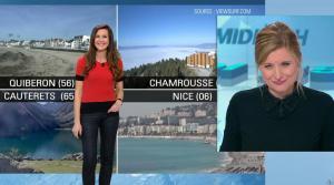 Daniela Prepeliuc à la Météo de BFM TV - 31/10/17 - 02