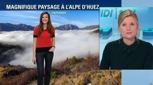 Daniela Prepeliuc à la Météo de BFM TV - 31/10/17 - 05