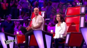 Jenifer Bartoli dans The Voice Kids - 30/09/17 - 10