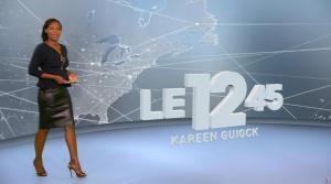Kareen Guiock dans le 12-45 - 02/10/17 - 01