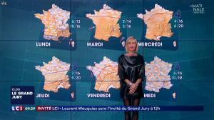Karine Fauvet à la Météo de LCI - 23/09/17 - 10