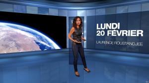 Laurence Roustandjee à la Météo de M6 - 20/02/17 - 03