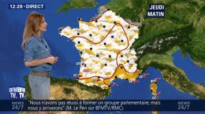 Sandra Larue à la Météo de BFM TV - 28/06/17 - 02