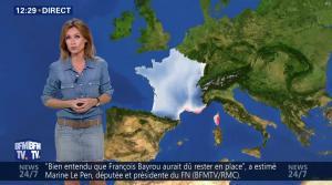 Sandra Larue à la Météo de BFM TV - 28/06/17 - 03