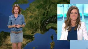 Sandra Larue à la Météo de BFM TV - 28/06/17 - 05