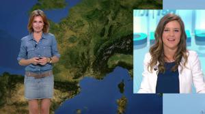 Sandra Larue à la Météo de BFM TV - 28/06/17 - 06