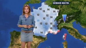 Sandra Larue à la Météo de BFM TV - 28/06/17 - 09