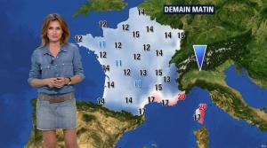 Sandra Larue à la Météo de BFM TV - 28/06/17 - 10