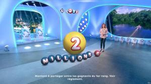 Sandrine Quétier lors du Tirage du Loto - 18/12/17 - 01